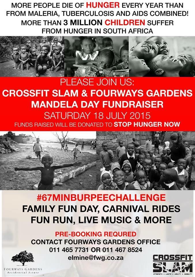 MANDELA DAY BURPEE CHALLENGE